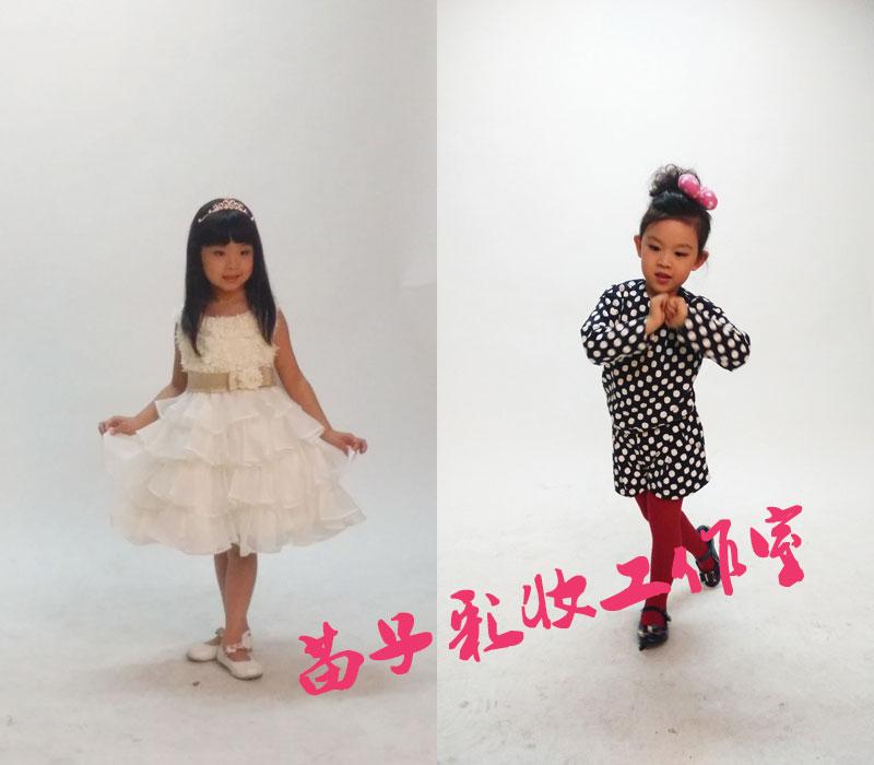 小童星模特卡拍摄化妆造型分享