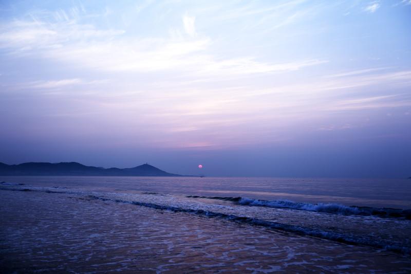 青岛西海岸金沙滩
