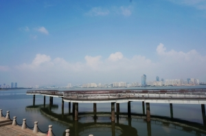 青岛西海岸唐岛湾滨海公园